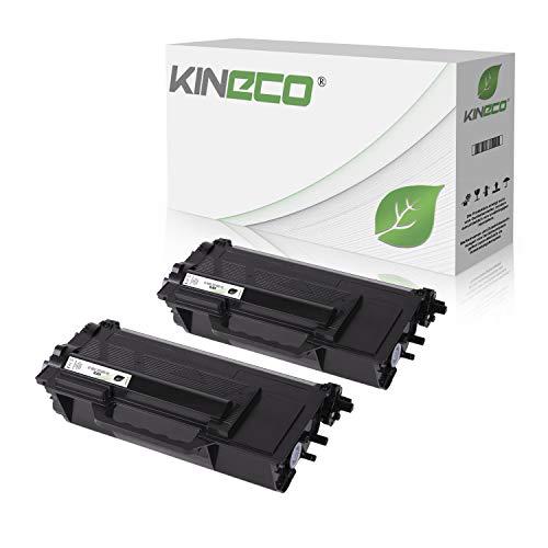 2 Kineco Toner kompatibel für Brother TN-3480 für Brother HL-L6300DW HL-L-L5100DNTT HL-L5000D HL-L5100DN HL-L5100DNT