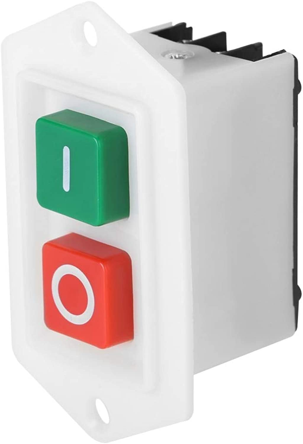 New 10Pcs LC310 SelfLocking Power On Off Switch AC 220V 10A Start Stop Push Button Switch
