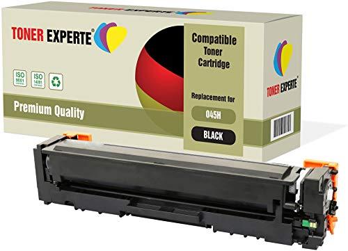 TONER EXPERTE® Schwarz Premium Toner kompatibel zu 045HBK 045H 045 für Canon i-SENSYS MF631Cn, MF633Cdw, MF635Cx, LBP611Cn, LBP613Cdw, imageCLASS MF632Cdw, MF634Cdw, LBP612Cdw
