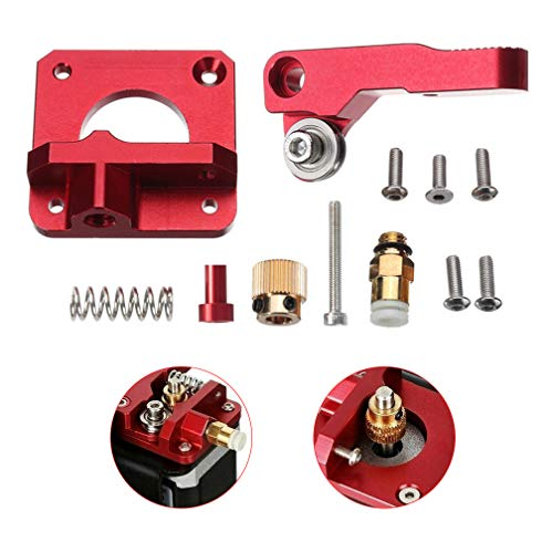 Ender 3 Ender 5 CR-10 Upgrade 3D Printer Parts MK8 Extruder Aluminum Alloy Block Bowden Extruder 1.75mm Filament for Creality 3D Ender 3,CR-7,CR-8, CR-10, CR-10S, CR-10 S4, and CR-10 S5