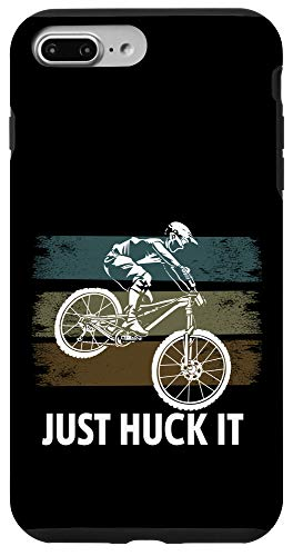 iPhone 7 Plus/8 Plus Just Huck It Funny Mountain Bike Case
