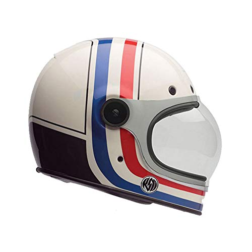 Bell Powersports Bullitt Motorradhelm, Weiß (RSD Viva), L