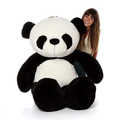Hug 'N' Feel Soft Toys Panda 3 Feet Teddy Bears Soft Toy | Birthday Gift for Girls/Wife, Boyfriend/ Husband | Wedding/Anniversary Gift for Couple Special, Baby Toys Gift Items | (3 Feet, Panda)