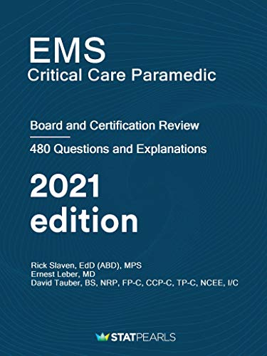 EMS Critical Care Paramedic: Certification and Board Review (English Edition)