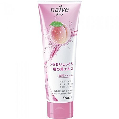Naive Facial Cleansing Foam Peach 110g by NAIVE