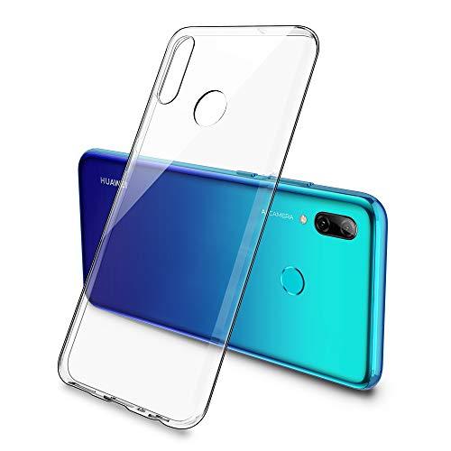 Simpeak Hülle Kompatibel mit Huawei P Smart 2019/Honor 10 Lite [6,21 Zoll], Handyhülle Kompatibel für P Smart 2019 Silikon Durchsichtige Dünn TPU Hülle - Transparent