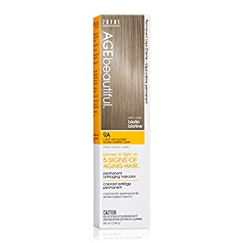 Agebeautiful Liqui-Creme 9A Light Ash Blonde 2-Ounce