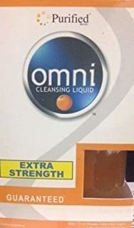 Purified Omni Detoxifying Liquid Extra Strength +4 Cleansing Caps Orange
