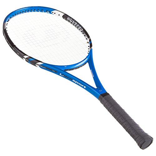 Ultrasport Tennisschläger IZX 2000 Raqueta de Tenis, Unisex, Azul/Negro, IZX2000