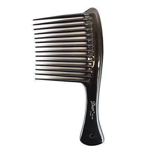 Diane Rake Rage Comb Black, Hair detangler, hair brush, detangler, pulls out the knots in your hair, won't pull your hair