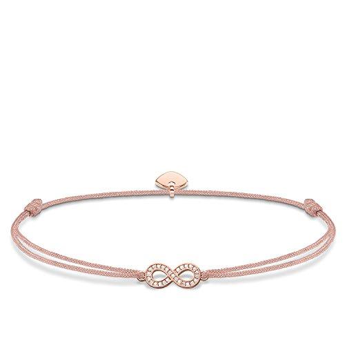 Thomas Sabo Damen-Armband Little Secret Infinity 925 Sterling Silber LS032-898-19-L20v