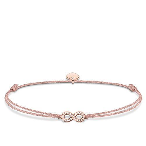 THOMAS SABO Damen Armband Little Secret Infinity 925er Sterlingsilber; 750er Roségold Vergoldung LS032-898-19