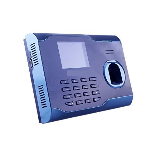 HEQIE-YONGP Timeuhren für Mitarbeiter Kleinunternehmen Mehrsprachige Unterstützung WiFi-Anwesenheit Fingerabdruck-Zeiterfassung mit integrierten Wi-Fi-Echtzeit-Fingerabdruck-Zeit-Recorder