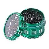 Ausma Molinillo De Hierbas,Premium Aluminio 4 Piezas Grinder metalico para Hierbas y Espec...
