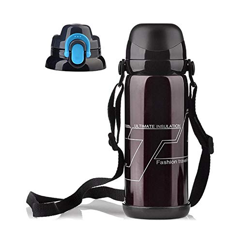 800ml Vacuum Flasks Thermoses Stainless Steel Big Size Outdoor Travel Cup Thermos Bottle Thermal Coffee Thermoses Cup-800ml_brown