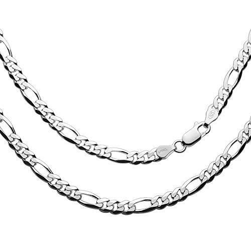 Herren Halskette Silber 925 55cm Ohne Anhänger Silver Plus(TM) Anlaufschutz