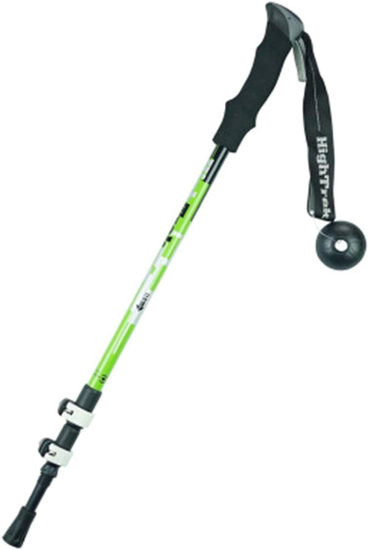 SYJP Outdoor Trekking Pole  External Lock Cane Crutches Buckle Telescopic Easy