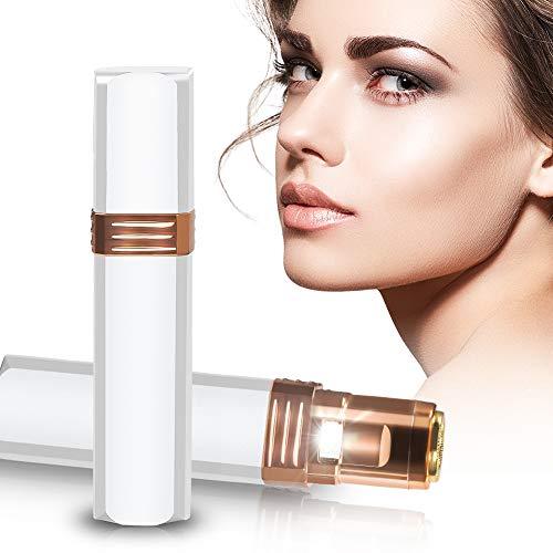 Épilateur facial pour femmes, épilation de visage indolore, rasoir électrique...