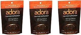ADORA Calcium 500MG Milk Chocolate 30 disks (3)