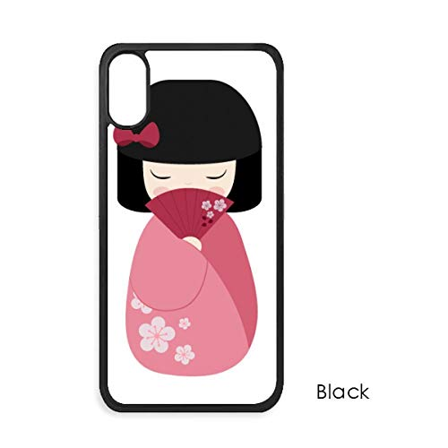 beatChong Roze Kimono Fan Sakura Japan Voor iPhone X Cases Phonecase Apple Cover Case Gift
