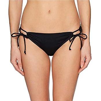 Hobie Junior s Side Tie Hipster Bikini Swimsuit Bottom Black Small