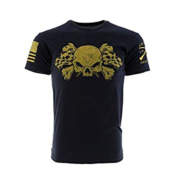Grunt Style Motorsports - Drive Fast Men s T-Shirt Color Black Size XXX-Large