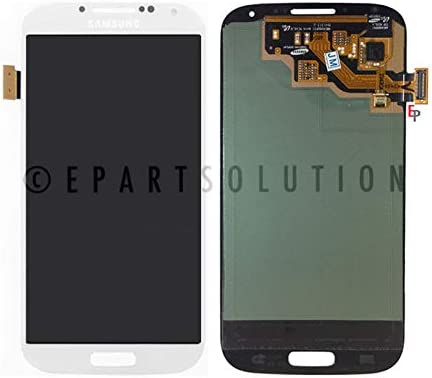 ePartSolution_LCD Display Touch Screen Digitizer Glass Assembly for Samsung Galaxy S4 i337 M919 i9500 i9505 i545 L720 R970 Replacement Part USA (White)