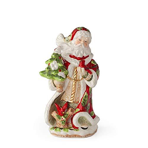 Hervit Babbo Natale Tundra Porcellana 25Cm