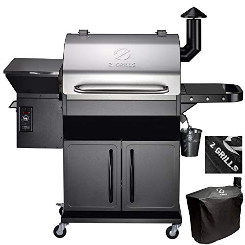 Best Deals! Z GRILLS ZPG-1000E 2020 New Model Wood Pellet Grill & Smoker, 8 in 1 Grill Auto Temperat...