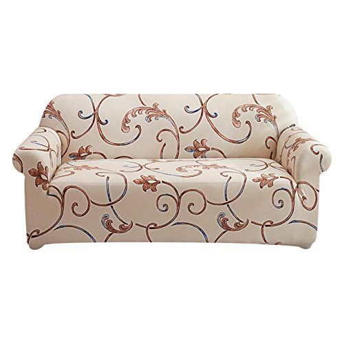 YAUTI Seater Covers Protective Universal Elastic Sofa Cover For Living Room Furniture 1/2/3/4 Seater-9_1-Seat 90-140Cm
