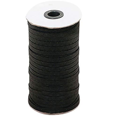 Surenhap 100 m de cordon en caoutchouc - Largeur : 6 mm.