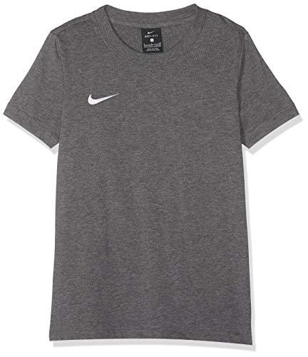 Nike Kinder T-Shirt FC Barcelona Covert,grau(Charcoal Heathr/White),S