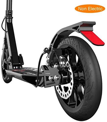 Fswallowhand Folding Adult Kicker Mit Doppelscheibenbremsen, Doppelfederung, Commuter Scooter, Höhenverstellbare Unterstützung, £ 220