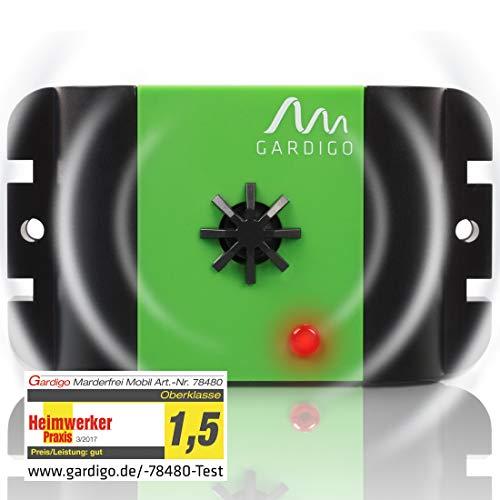 Gardigo Marder-Frei Mobil Ultraschall I Marderschutz I Marderschreck I Marderabwehr I Mittel gegen Marder I Überall einsetzbar I Deutscher Hersteller