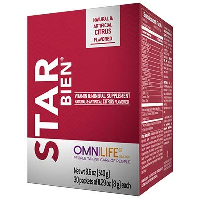 Omnilife Starbien 2 Pack, Vitamins & Minerals, 2 Boxes of 240 Grams Each