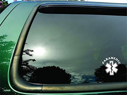 wandaufkleber 3d Wandtattoo Schlafzimmer Auto Aufkleber Auto Aufkleber Rettungssanitäter Symbol Die Cut Fenster Aufkleber/Sticker 9X9Cm