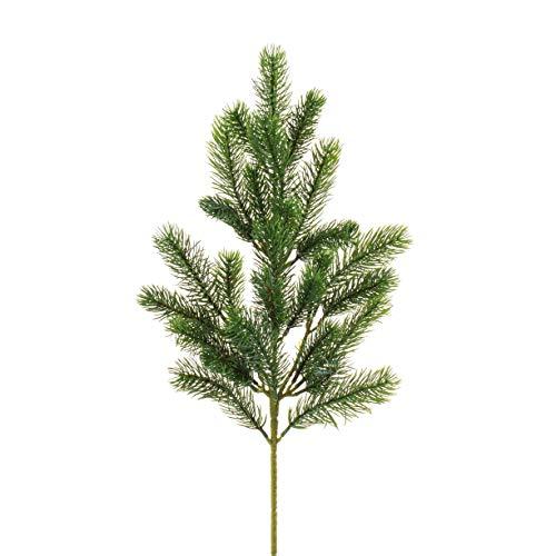 artplants.de Künstlicher Tannenzweig, PE Nadeln, 60cm - Nadelbaumzweig - Kunstzweig