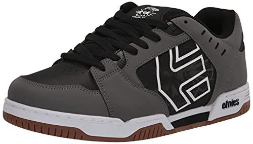 Etnies Herren Faze Skate-Schuh, Grau Schwarz Weiß, 44 EU