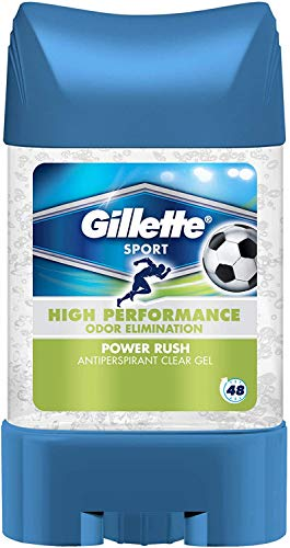 Deo Clear Gel Power Rush 70Ml Gillette
