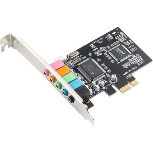 Syba SI-PEX63096 6-Channel DAC for AC3 5.1 Channels 4PIN Connector Retail