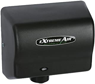 American Dryer ExtremeAir Automatic Hand Dryer with Steel Black Cover [GXT9-BG]