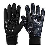 ODLICNO Touchscreen Handschuhe, Touch Gloves Smartphone Winterhandschuhe Radhandschuhe rutschfest für Radfahren Motorradfahren Wandern Outdoor Aktivitäten für Damen und Herren