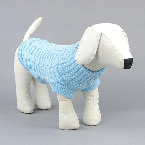 Kismaple Animale domestico Cucciolo Gatto Cappello caldo del cane Maglione Cappotto per maglieria Abbigliamento Autunno inverno Abbigliamento per cani