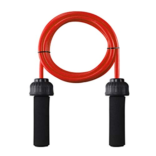 FORUU Heavy Weighted Jump Rope,2020 New Professional Skipping Rope Solid PVC 2.8m Weighted Battles Fitness Jump Rope For Heart Speed Jump Rope Best Jump Rope For Beginners,Men,Women,Kids,Adults Home