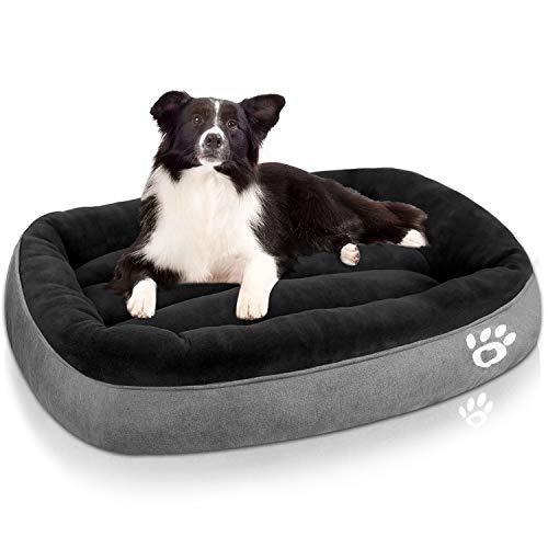 TR pet Dog Bed Large (XL/XXL/XXXL) Washable | Big Calming Pets Dogs...