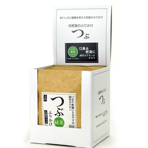 つぶふりかけ 緑茶ふりかけ 小袋 10g