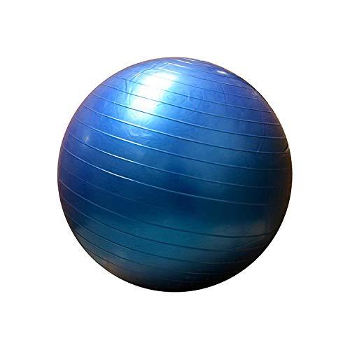 FitAndFun Balon de Gimnasia Gym Ball Blu Entrenamientos Pilates Tonificacion Hogar (Cod. SP5004)