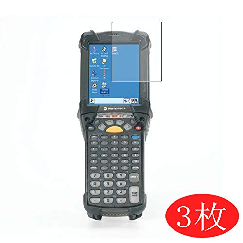 Vaxson 3 Stück Schutzfolie kompatibel mit Motorola MC9090, Displayschutzfolie Bildschirmschutz Blasenfreies TPU Folie [Nicht Panzerglas]