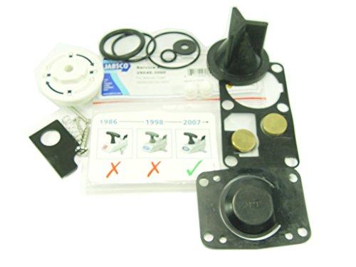Jabsco 29045Kits d'entretien pour WC Manuels Marine avec système de Verrouillage par Rotation,...
