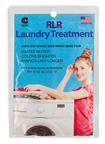 RLR Natural Powder Laundry Detergent – Whitens, Brightens, Refreshes Baby Cloth Diapers, Musty Towels, Workout Clothes - Non-Toxic, Fragrance-Free for Sensitive Skin (1 - Pack)